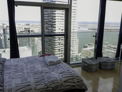 Photo for 50th+ floor lake view condo beside CN tower