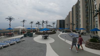 Photo for Come Enjoy our beautiful 2 bedrm Ocean Front/Boardwalk Front condo!