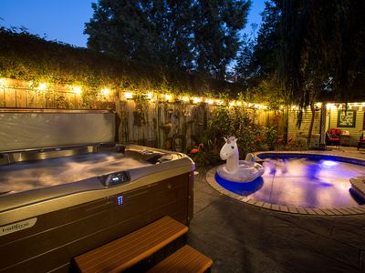 Photo for 4 suites + pool AND hot tub in the trendiest part of NOLA!