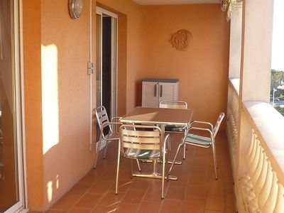 Photo for Apartment in the center of Sainte-Maxime with Lift, Parking, Internet, Washing machine (108729)