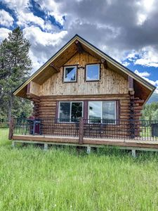 Photo for Gorgeous 2 Br Log Cabin 3 Miles From the Bowman Lake Entrance Into Glacier Park