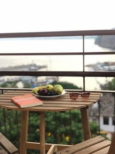 Photo for Simple sea-view flat in lovely old town * 5th Floor flat