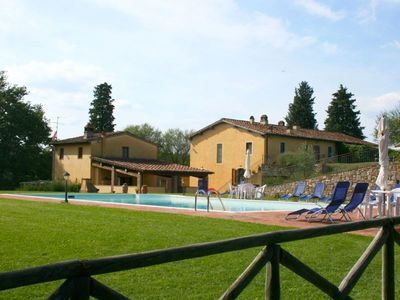Photo for 3 bedroom Apartment, sleeps 6 in Sergine di Sotto with Pool and WiFi