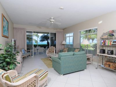 Photo for Beachfront Ocean Level Condo on 7 Mile Beach - 3 Rm - Pool/Jac