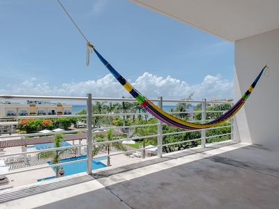 Photo for AMAZING PENTHOUSE W/ POOLS AND BEST VIEW IN PLAYA