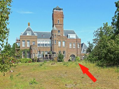Photo for Lovely, ground-floor apartment set on top of a high dune nearby Bergen aan Zee