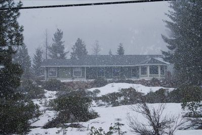 Wintry day at the House of Bass and Lilies