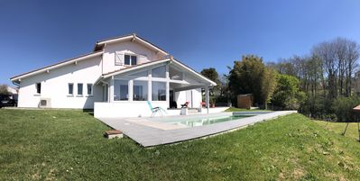 Photo for New house with swimming pool at the gates of Biarritz