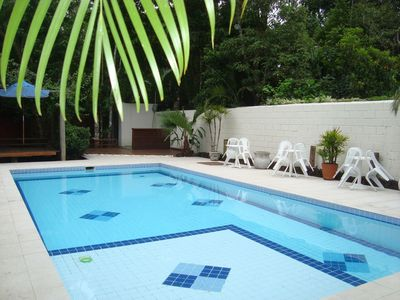 Photo for Tiradentes rented! 3 suites + 1 room all with air / c 2 gelad, churr garden terrace
