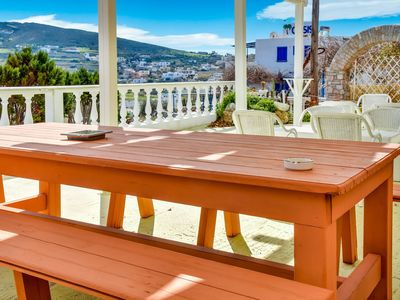 Photo for Alluring Holiday Home in Syros with Barbecue