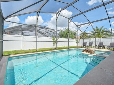 Photo for Welcome to The Modern Magic villa, 3 miles from Disney World,  private pool