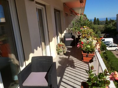 Photo for Beautiful 2rooms 50 m2 4 pers, + baby preview sea, calm, parking, wi-fi