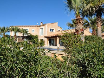 Photo for FINCA ES TRENC - max. 12 people - 6 double rooms - 7 bathrooms - pool