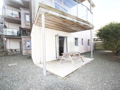 Photo for Apartment 2 is a modern spacious 2 bedroomed apartment overlooking Fistral Beach