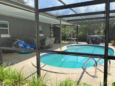 Screened in private use pool