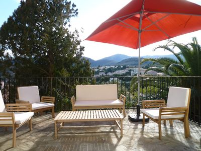 Photo for Large modern apartment with SUPER TERRACE 38 m² & parking!