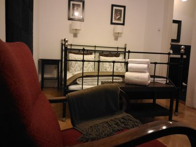 Photo for 3 bedroom 2 bathrooms & balcony suit in OLD JEWISH quarter,AC ,free minibar,VRBO