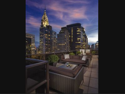 Photo for New York Midtown Studio Prime location rooftop lounge, fitness center and resort