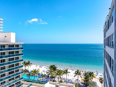Photo for Modern 3 Bedroom Condo right on the BEACH