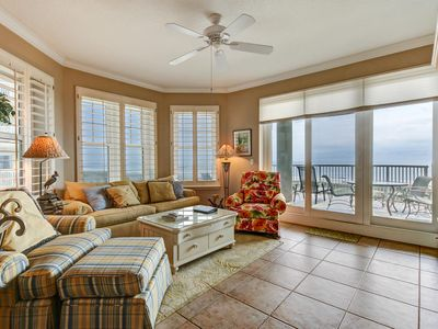Photo for Lovely Oceanfront 3rd Floor Condo With Remarkable Views Of The Atlantic Ocean