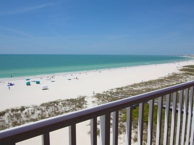 Photo for The Finest Beachfront Penthouse Stateroom Available on Treasure Island!