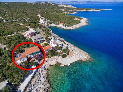 Photo for Apartment in Pokrivenik (Hvar), capacity 2+3