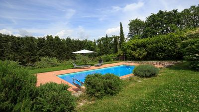Photo for Ancient Farmhouse in the Tuscan Maremma with Veranda Garden and Swimming Pool