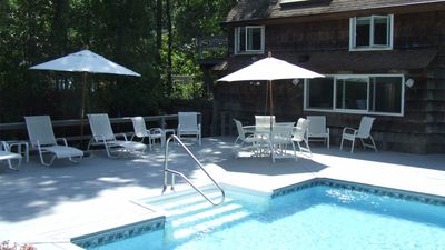 Photo for New Listing: Classic East Hampton Beauty w/ Heated Pool, Private Tennis Court, Resident's Beach