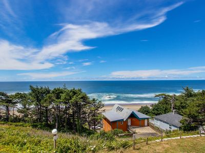 Photo for Enormous, renovated, dog-friendly home w/ ocean views & easy beach access!