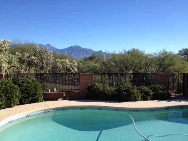 View of Santa Rita Mountains