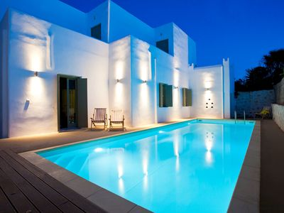 Photo for Aronia Superb Villa Paros 6br upto 15guests private pool