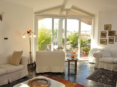 Photo for An Amazing Penthouse with Terrace near St. Peter' And Piazza Del Popolo