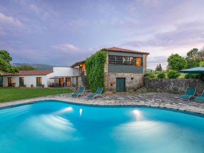 Photo for Chic Mansion in Ponte de Lima With Swimming Pool