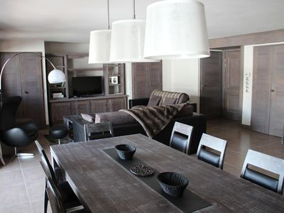Photo for ski in ski out luxury 120 m2 in the heart of the Trois Vallees
