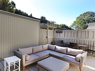 Photo for 4303W: Updated Sea Colony West getaway! Stroll to private beach, pools, tennis ...