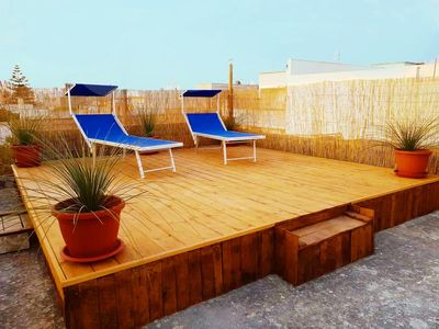 Roof Terrace with Seating Area