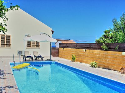 Photo for Villa Majestic with Private Pool, just a breath away from the beach
