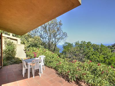 Photo for Villa Mairi: A characteristic and welcoming three-story villa situated on a promontory facing the sea.