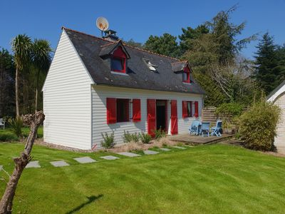 Photo for Warm house in the heart of a forest, close to shopping and beaches