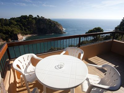 Photo for Holiday Apartment - 5 people, 43m² living space, 1 bedroom, sea view, Internet/WIFI