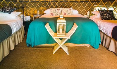 Photo for Holly - Yurt - One Bedroom Camping, Sleeps 4