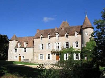 Photo for Chateau with Private Pool, Floodlit Tennis, Grand Pianos, WIFI