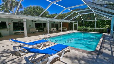 Photo for Sanibel Island Beach Home with Private Pool in the Dunes Golf Community!