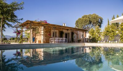Photo for Quiet stone house among more than 1200 olives. Your perfect place to rest