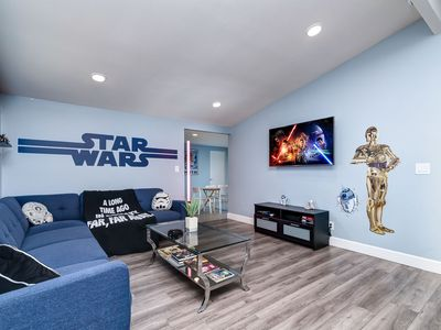 Photo for Brand New StarBnB! Sleeps 14. Close to DLand, Knott's, Convention Center.