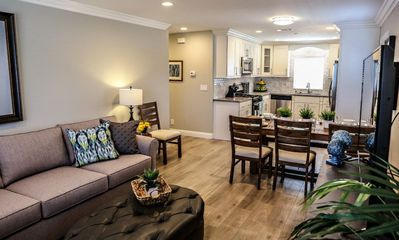 Family Room and Dining Area