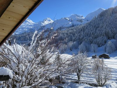 Photo for Restored farmhouse in Chalet 5 *, Clusaz, 12 pers, at the foot of the slopes, swimming pool