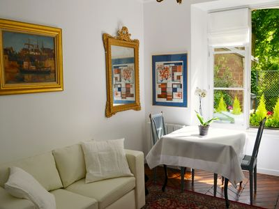 Photo for Chic French style apartment in Versailles with garden patio close to Palace