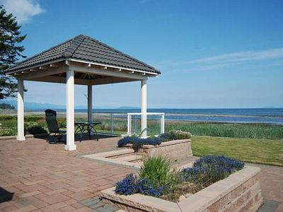 Photo for Awesome 3 Bedroom Ocean and Beach Front French Creek Rancher in Parksville