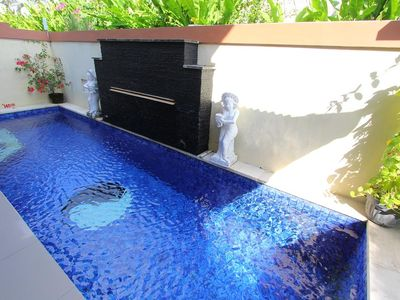 Photo for Two Bedroom villa with private pool in Seminyak, only 10 mnts walk to the beach